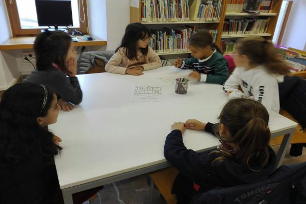 Visita a la biblioteca